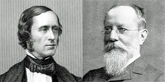 Hubert Parry - Parry studied with William Sterndale Bennett (l) and Edward Dannreuther