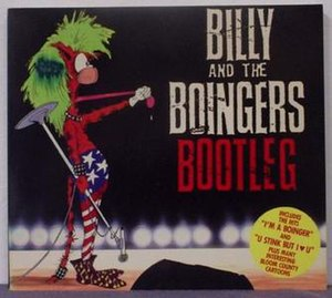 Cover of Billy and the Boingers Bootleg