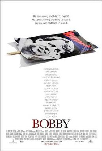 Bobby (2006 film) - Theatrical release poster