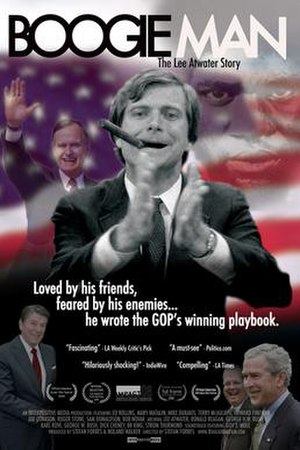 Boogie Man: The Lee Atwater Story - Image: Boogie Man Promotional Poster