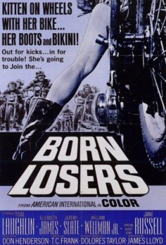 The Born Losers - Film poster by Reynold Brown