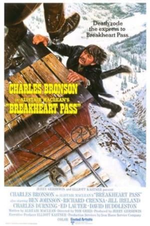 Breakheart Pass (film) - Theatrical poster, artwork by Mort Künstler