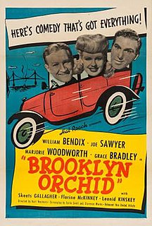 <i>Brooklyn Orchid</i> 1942 film by Kurt Neumann