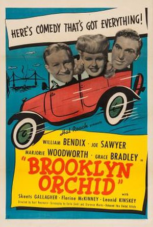 Brooklyn Orchid - Theatrical release poster