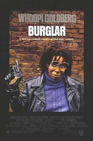 Burglar (film) - Theatrical poster for Burglar