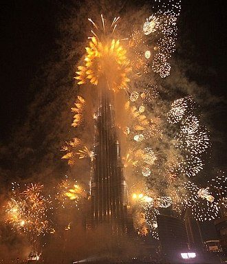 Emaar Properties - The opening ceremony of Burj Khalifa