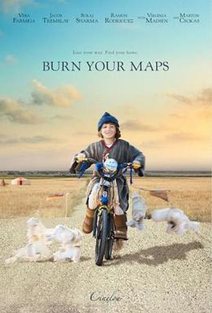 Burn Your Maps - Promotional poster