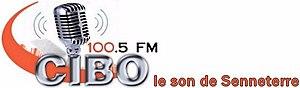 CIBO-FM - Image: CIBO 100.5lesonde Senneterre logo