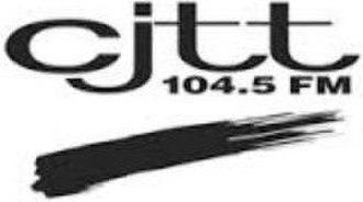 CJTT-FM - Image: CJTT 104.5FM logo