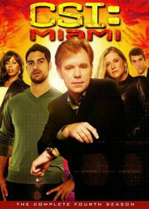 CSI: Miami (season 4) - Season 4 U.S. DVD cover
