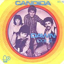 Candida single cover by the group Dawn.jpg