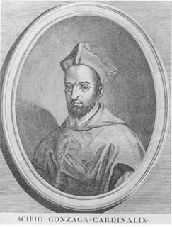 Scipione Gonzaga Italian cardinal