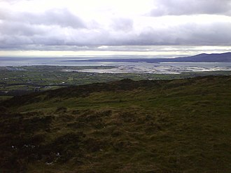 Carlingford Lough - The mouth of Carlingford Lough from Knockree.