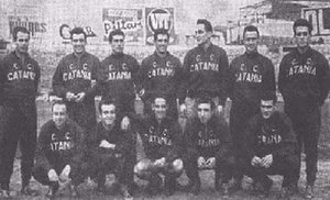 Calcio Catania - Calcio Catania during 1946.