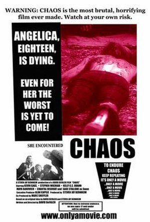 Chaos (2005 Dominion film) - Theatrical release poster