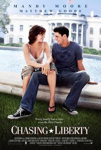 Chasing Liberty - Theatrical release poster