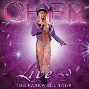 Live! The Farewell Tour - Image: Cher Live The Farewell Tour Frontal
