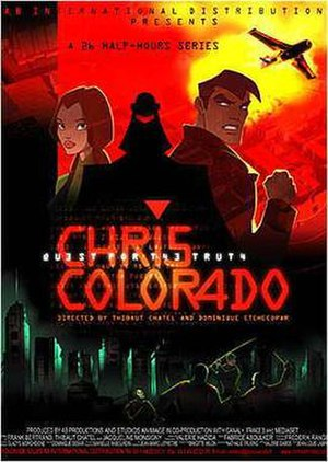 Chris Colorado - Promotional poster