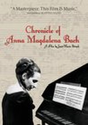 The Chronicle of Anna Magdalena Bach - Region 1 DVD cover