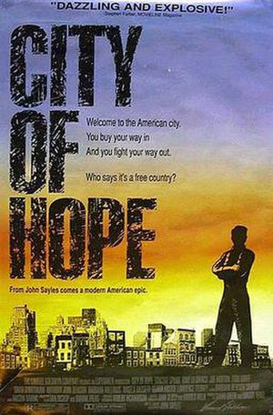 City of Hope (film) - Theatrical release poster