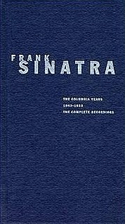 <i>The Columbia Years 1943–1952: The Complete Recordings</i> 1993 box set by Frank Sinatra