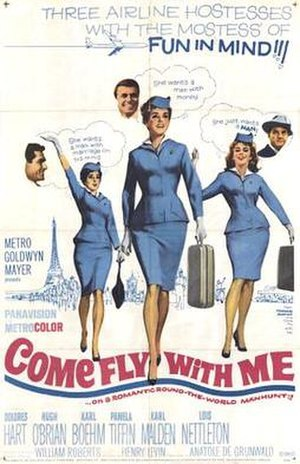 Come Fly with Me (film) - Image: Come Fly with Me Film Poster