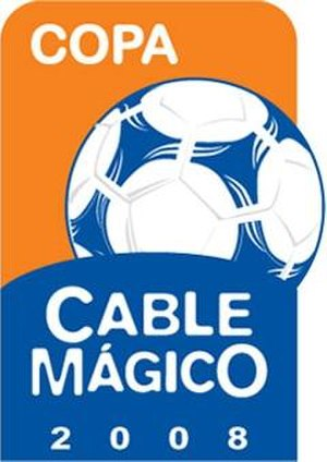Peruvian Primera División - Logo for Copa Cable Magico between 2008 and 2011.