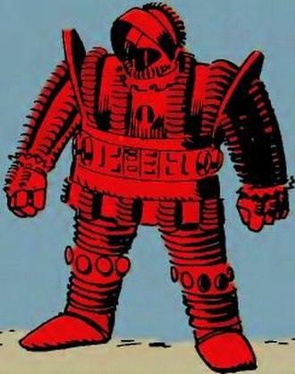 Crimson Dynamo - Image: Crimson Dynamo Armor MK I