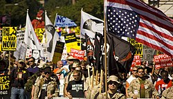 September 15, 2007, peace protest in Washington DC.