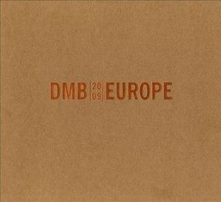 <i>Europe 2009</i> 2009 live album by Dave Matthews Band