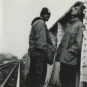 Da King & I - (left) Izzy Ice, (right) DJ Majesty