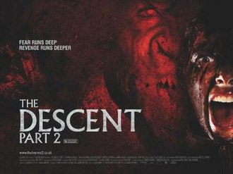 The Descent Part 2 - Theatrical poster