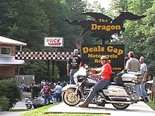 Tail Of The Dragon Photos >> Deals Gap North Carolina Wikipedia