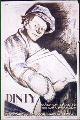Dinty (film) - Theatrical release poster