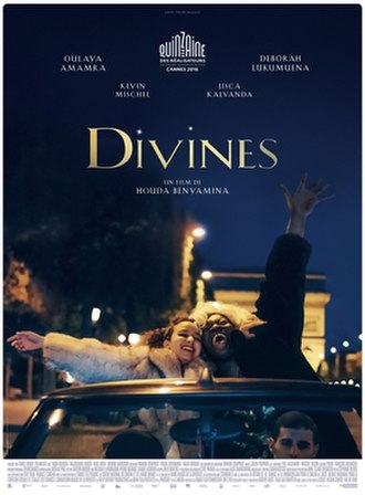 Divines (film) - Theatrical release poster