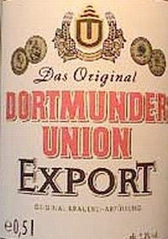 Dortmunder Export - The original Dortmunder Export