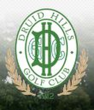 Druid Hills Golf Club - Image: Druid Hills.logo