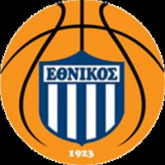 Ethnikos Piraeus B.C. - Image: Ethnikos Piraeus B.C. logo