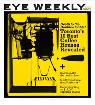 Eye Weekly - Image: Eye Weekly (newspaper)
