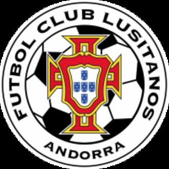 FC Lusitanos - Image: FC Lusitanos crest 2016