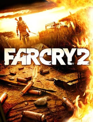 Far Cry 2 - Image: Far Cry 2 cover art