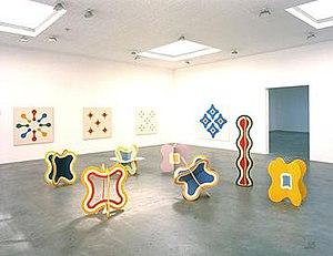 Paul Feeley - Image: Feeley Installation