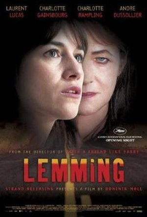 Lemming (film) - Theatrical poster