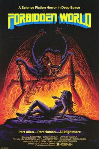Forbidden World - Promotional poster