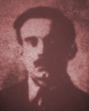 Louis C. Fraina - Louis C. Fraina as he appeared in a grainy Bureau of Investigation identification photo.