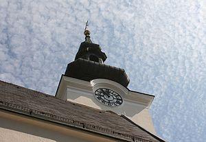 Gallneukirchen - Image: Gallneukirchner Kirchturm