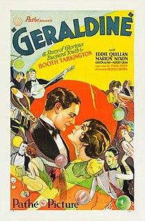 <i>Geraldine</i> (1929 film) 1929 film directed by Melville Brown