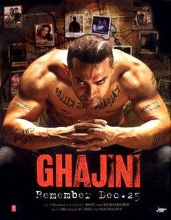<i>Ghajini</i> (2008 film) 2008 film by A. R. Murugadoss