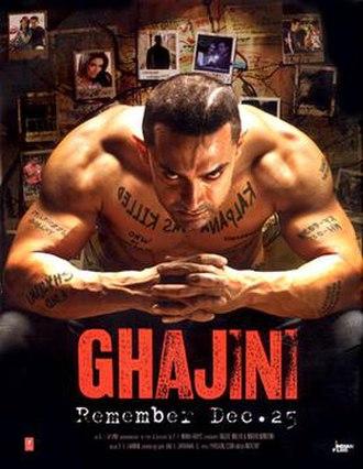 Ghajini (2008 film) - Theatrical release poster