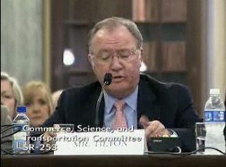 Glenn Tilton - Tilton testifies before the United States Senate Committee on Commerce, Science and Transportation in June 2010